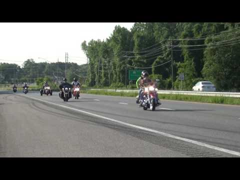 30th Annual Rolling Thunder departure from Hughesville ©TheBayNet com