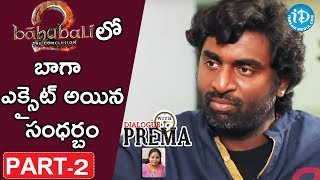 Cinematographer Senthil Kumar Exclusive Interview Part #2 | #DialogueWithPrema | Celebration Of Life - IDREAMMOVIES