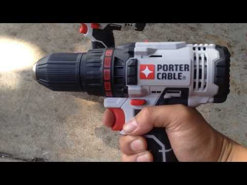 Cordless Power Tools Sets: Porter-Cable 20V