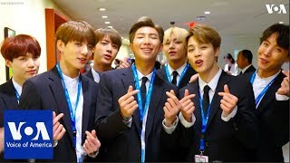 K-pop Supergroup BTS Says Self-Love Is the Answer - VOAVIDEO