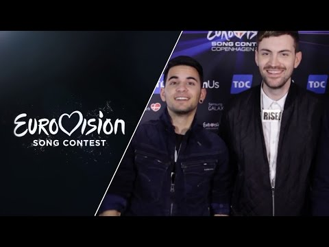 Eurovision stars wish you a happy new year!