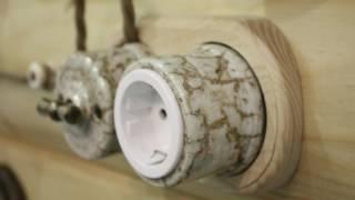 Деревянные накладки на бревно