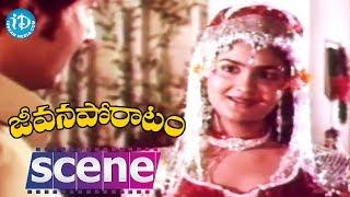Jeevana Poratam Movie Scenes - Urvashi Comedy || Rajinikanth || Shobhan Babu || Vijayashanti - IDREAMMOVIES