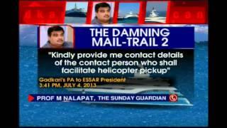Essar Leaks: Nitin Gadkari says 'invited' to yacht, Congress rejects claim - NEWSXLIVE