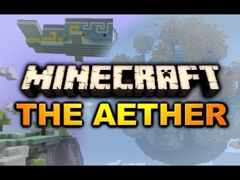 Minecraft: Aether Mod Adventure - Ep. 3 - Gold Dungeon Fail #1