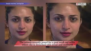 Stunning Divyanka Tripathi poses for a no make-up selfie - TIMESOFINDIACHANNEL