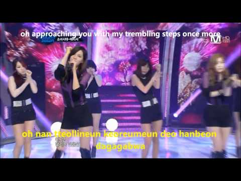TAETISEO (TTS) Baby Steps Live [HD] eng sub&amp;romanization