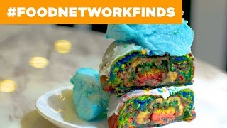 Rainbow Doughnuts at Sugar Factory | Food Network - FOODNETWORKTV