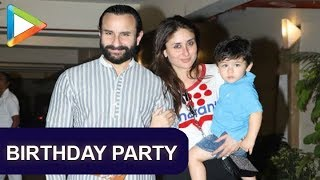 CHECK OUT: Cutie Taimur Ali Khan's pre-birthday celebrations | Part 1 - HUNGAMA