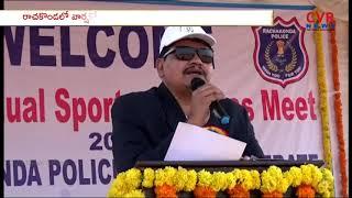 Rachakonda CP Mahesh Bhagwat Inaugurates 2nd Annual Sports & Games Meet | CVR News - CVRNEWSOFFICIAL