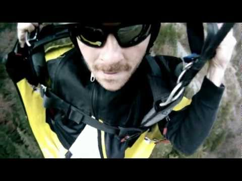 GoPro HD: Luke Hively | Wingsuit Proximity Flying | BASE Jumping | Dallas BASE Crew