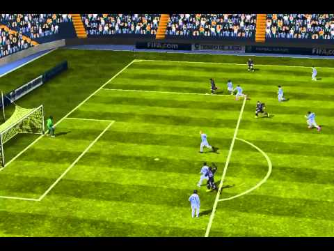 FIFA 13 iPhone/iPad - Real Madrid vs. Málaga CF