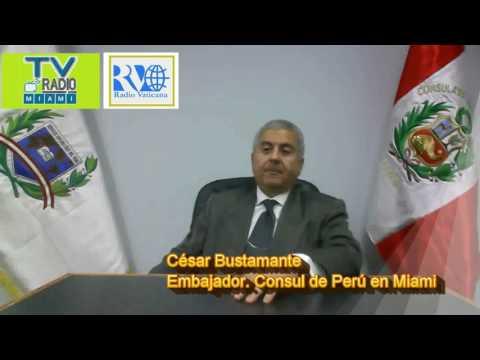 TVRadioMiami - ENTREVISTA al Consul de Peru en Miami . *El renacer de PERU*