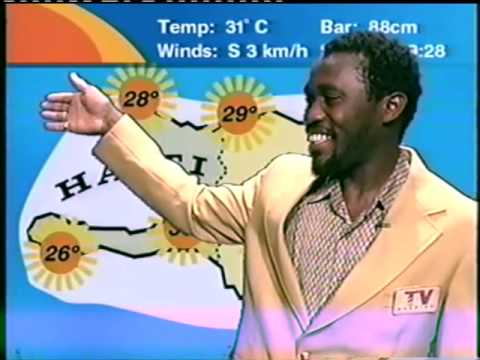 The world's most laid back weather man...