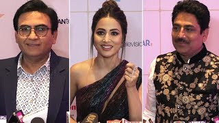 Hina Khan, Tarak Mehta Ka Ooltah Chashmah Cast & others at Indian Telly Awards 2019 - HUNGAMA