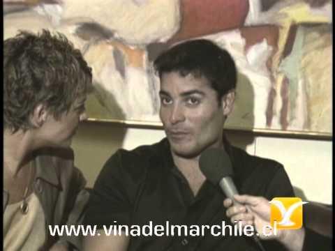 Backstage Berta Lasala, Alvaro Escobar, Chayanne