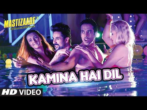KAMINA HAI DIL VIDEO SONG   Mastizaade