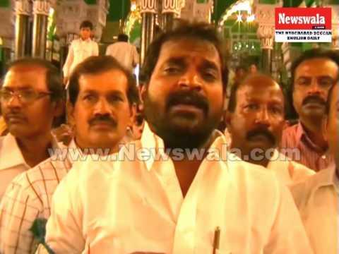 Srinivas Goud visited Bibi Ka Alawa -- Briefing media on Telangana Issue