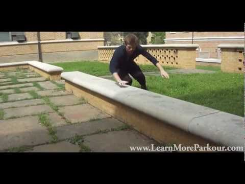 Parkour Training - Beginner Parkour Vault Training You Can Do Anywhere