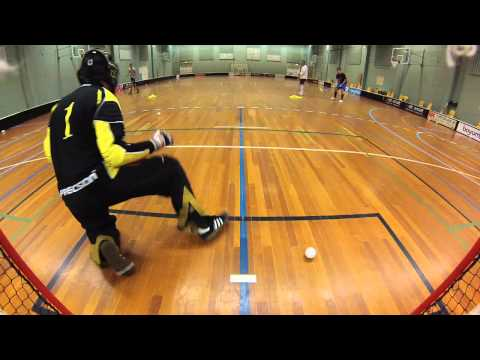 Floorball training elite Aarhus