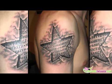 Los Mejores Tatuajes De Estrellas