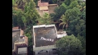 Kerala floods: 'Thanks' note on house's roof greets Indian Navy in Kochi - TIMESOFINDIACHANNEL