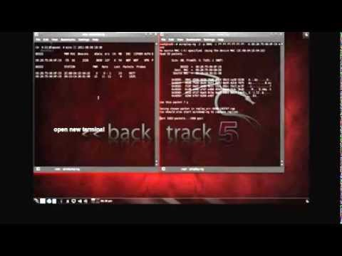 How To Hack Wifi Wep Keys With BackTrack 5  HD