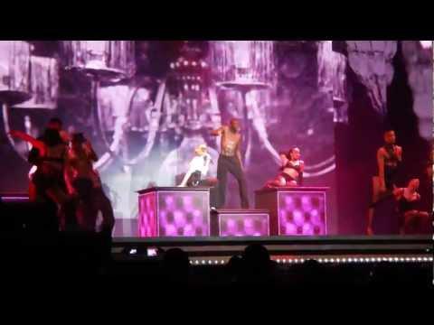 Madonna   Candy Shop / Erotica (MDNA tour Tel Aviv 31.05.2012