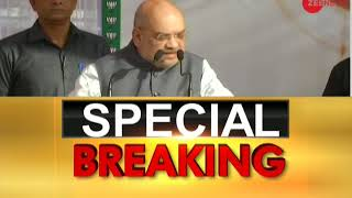 Special Breaking: BJP President Amit Shah addressing a rally in Jammu - ZEENEWS