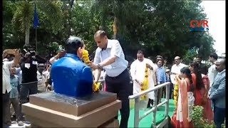 Governor Narasimhan Visits BR Ambedkar University in Srikakulam | CVR News - CVRNEWSOFFICIAL