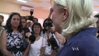 Female, Far-right and Populist: Le Pen Stumps to Be France's Next Leader - VOAVIDEO