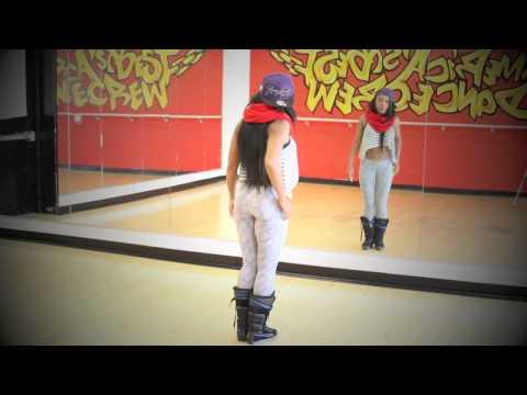 """Keaira LaShae """"Frankie"""" Hiphop DanceTutorial"""
