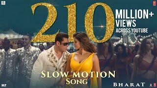 Bharat: Slow Motion Song| Salman Khan, Disha Patani| Vishal-Shekhar Feat. Nakash A , Shreya G - TSERIES