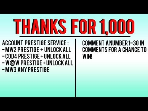 [OPEN] PRESTIGE SERVICE GIVEAWAY - THANKS FOR 1,000