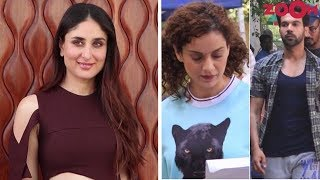 Kareena & 'Veere Di Wedding' Team Promote The Film | Kangana & Rajkummar Shoot For 'Mental' More - ZOOMDEKHO