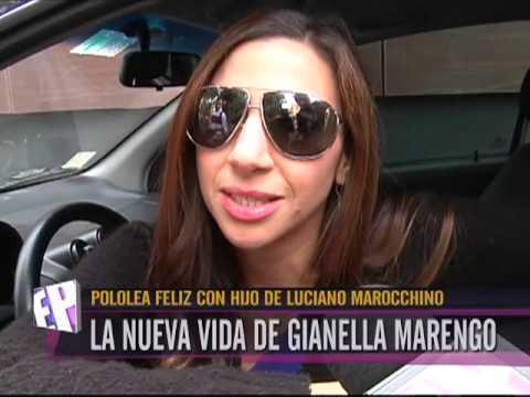 Pololea feliz con hijo de Luciano Marocchino la nueva vida de Gianella Marengo