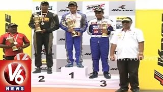 Go-Karting tournament completed in Shamshabad track - Hyderabad - V6NEWSTELUGU