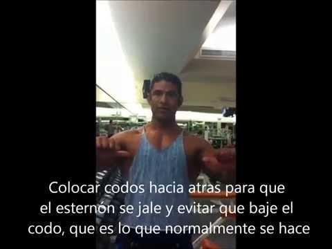 Tips de entrenamiento de pectorales con Juan Espinosa Beltran