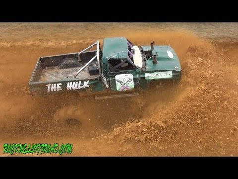 THE HULK GONE WILD!  CRAZY ACTION AT TEXAS MUD FEST!!!