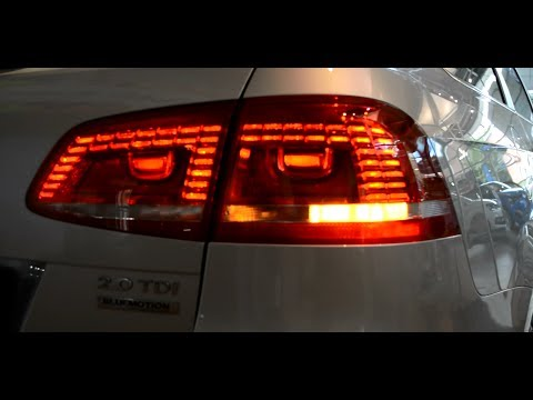 VW PASSAT LED ZIBINTAI GALINIAI UNIVERSALAS  Volkswagen Passat B7
