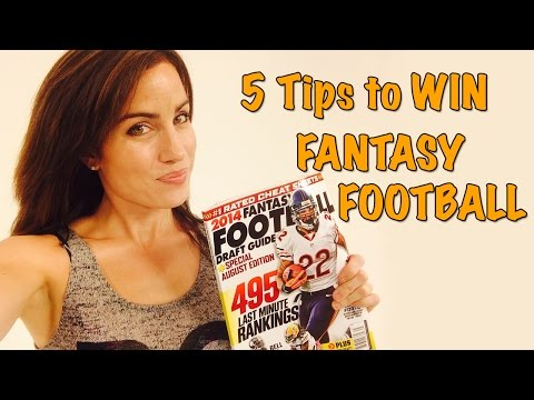 Fantasy Football: 5 Tips to Win Your League