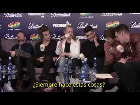 One Direction no se cortan con Uri y Daniela