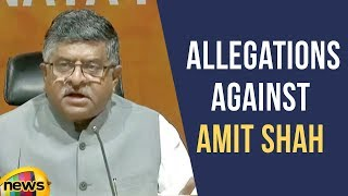 BJP Condems The Allegations Against Amit Shah | Judge Loya Case | Mango News - MANGONEWS