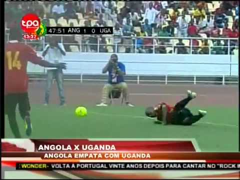 Angola 1-1 Uganda Full Highlights-2014 FIFA World Cup qualification (3 June 2012)
