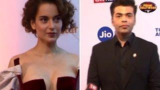 Kangana Ranaut & Karan Johar Avoid Each Other At An Event | Bollywood News - ZOOMDEKHO