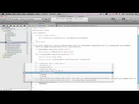 iPhone Tutorials: XML Parsing Part 2
