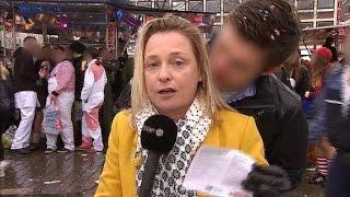 Female reporter groped live on air - CNN