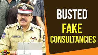 Anjani Kumar Busted Fake Consultancies, Held Five | Latest News Updates | Mango News - MANGONEWS