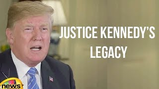 Donald Trump Weekly Address Over JUSTICE KENNEDY'S Legacy   Mango News - MANGONEWS