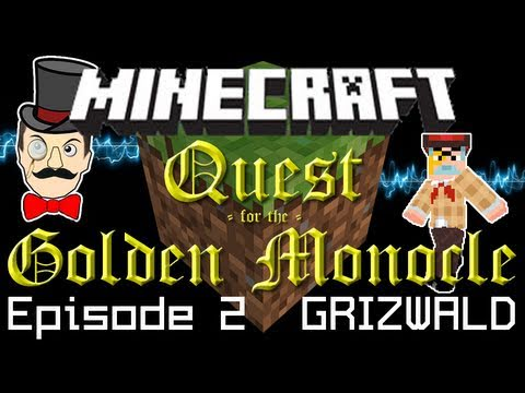 Minecraft Adventure: Professor Grizwald and the Redstone Keys - Quest for the Golden Monocle PART 2!
